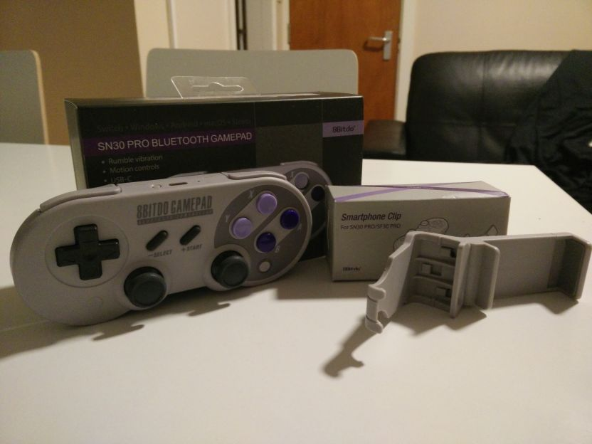 Review: 8Bitdo SN30 Pro (Hardware) | GBAtemp net - The