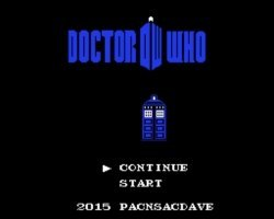 dr-who nes gbatemp review by another world title screen