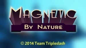 Magnetic By Nature OUYA Review GBATemp Another World Title Screen