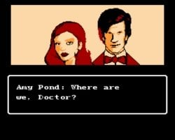 dr-who nes gbatemp review by another world cut scene amy pond