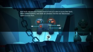 Magnetic By Nature OUYA Review GBATemp Another World Controls