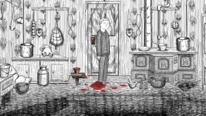 Neverending Nightmares OUYA Review GBAtemp by Another World Raw Meat