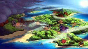 Kaptain Brawe Brave New World Review GBAtemp Another World Map