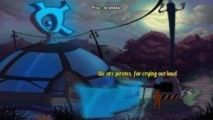 Kaptain Brawe Brave New World Review GBAtemp Another World Pirates 2