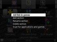 GCW Zero GBAtemp Review Context Menu 1 JPG