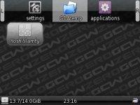GCW Zero GBAtemp Review Custom GBAtemp Tab JPG