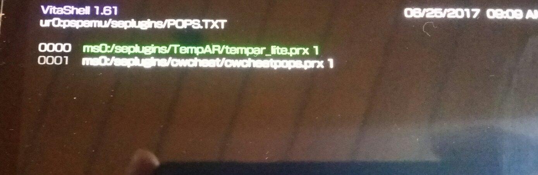 tempR and CWcheat with adrenaline psone ?   GBAtemp net