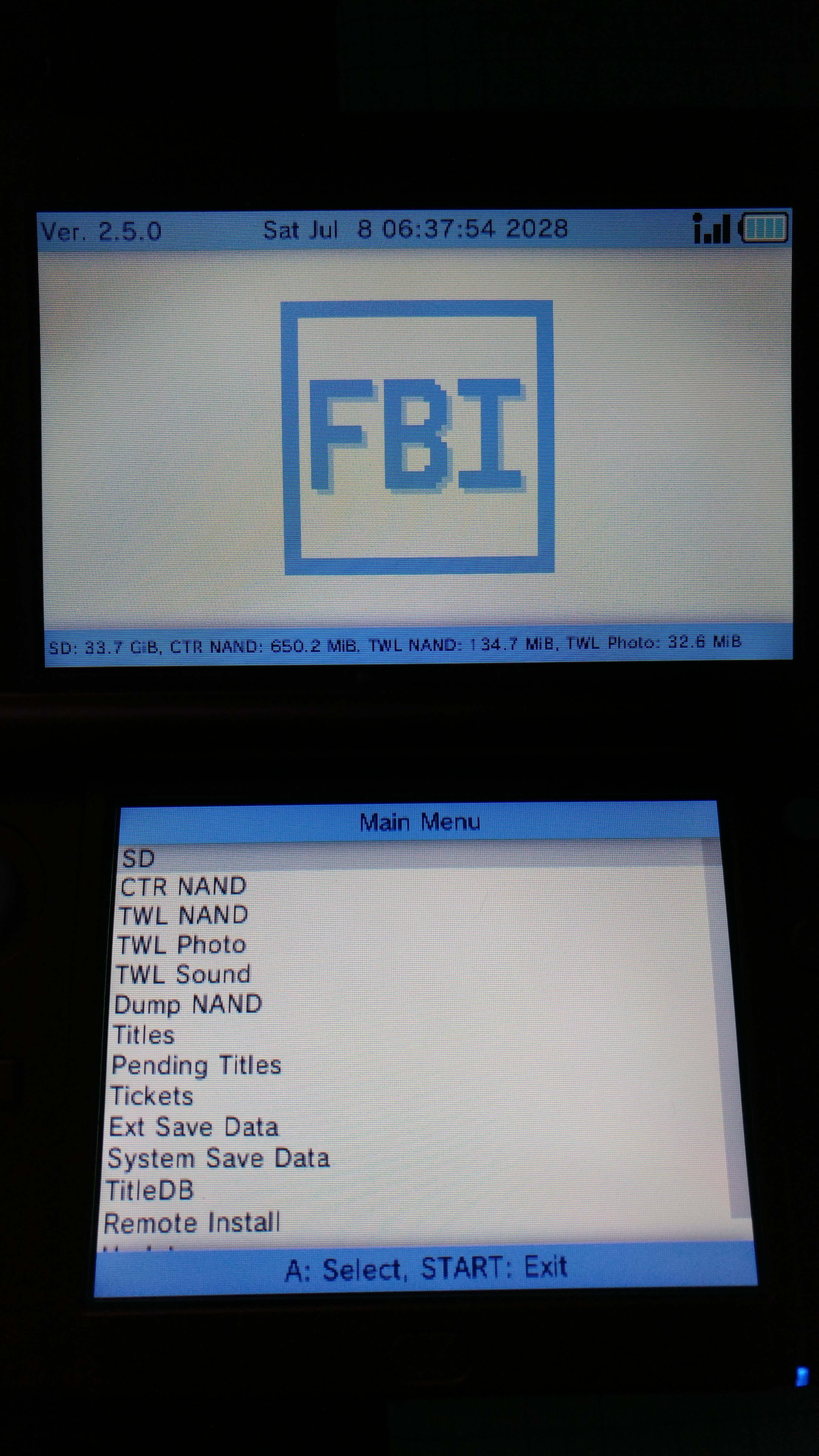 Help  FBI won't install anything  | GBAtemp net - The Independent
