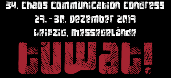 34c3 hacker conference starts 27th of December, Switch talk slated
