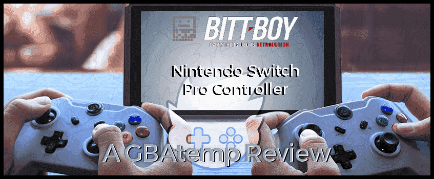 BittBoy Switch Pro Controller.