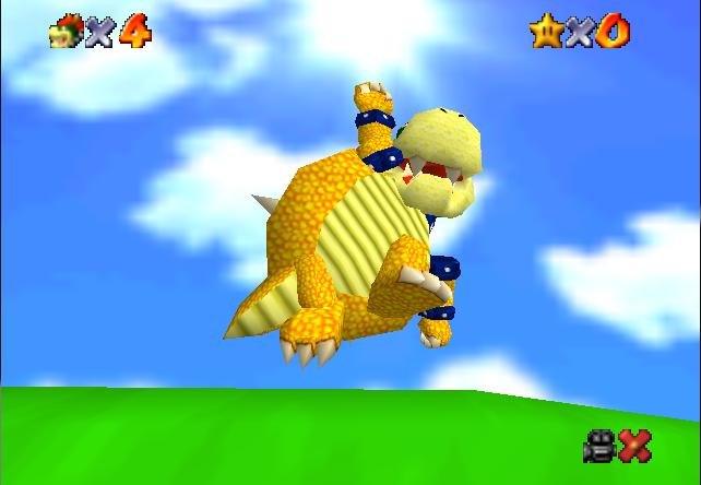 Bowser 64 Mario 64 Rom Hack Gbatemp Net The