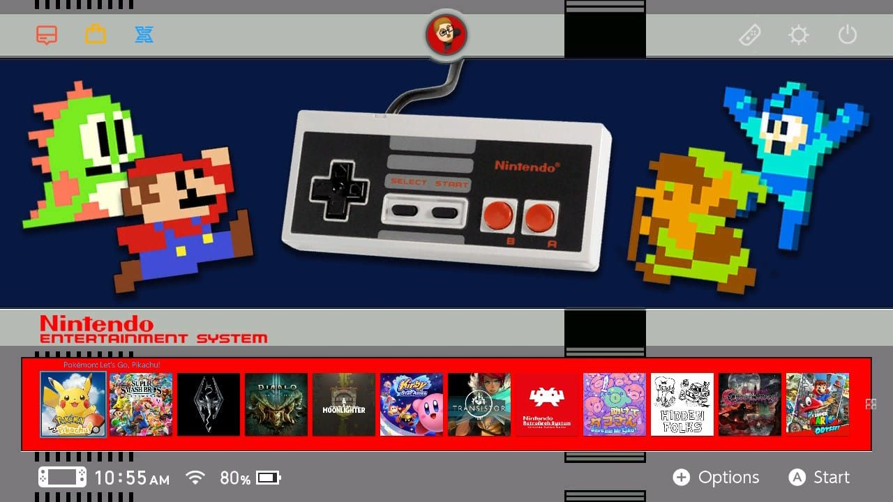 Get your Nintendo Switch Custom Themes here! | GBAtemp net