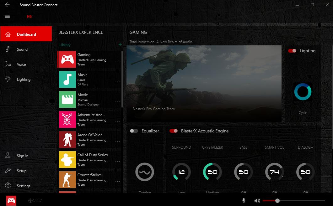 Review: Sound BlasterX H6 Gaming Headset (Hardware