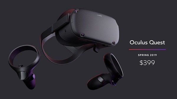 Standalone Oculus Quest VR Headset Arrives Next Spring