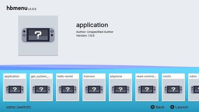 SWITCH] nx-hbmenu v2 0 0 がリリース (Switch Homebrew