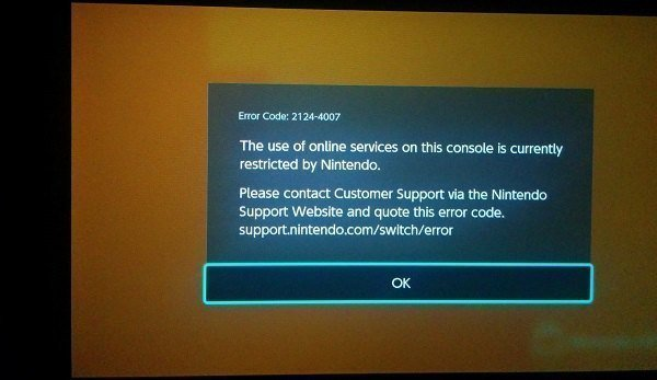 The Switch banning situation | GBAtemp net - The Independent Video