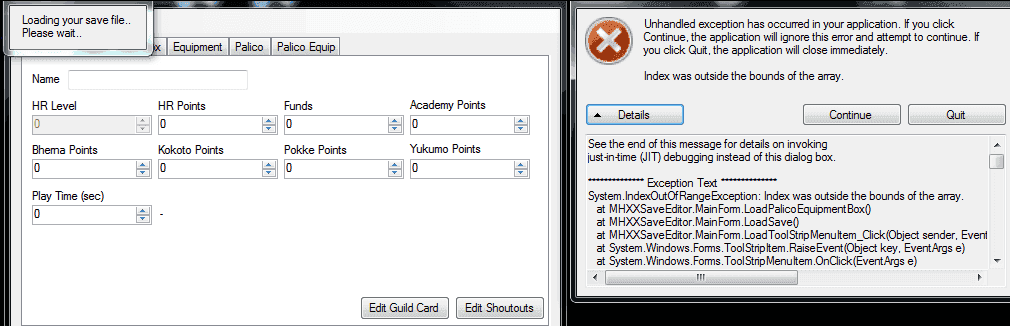 RELEASE] MHXX Save Editor | Page 8 | GBAtemp net - The