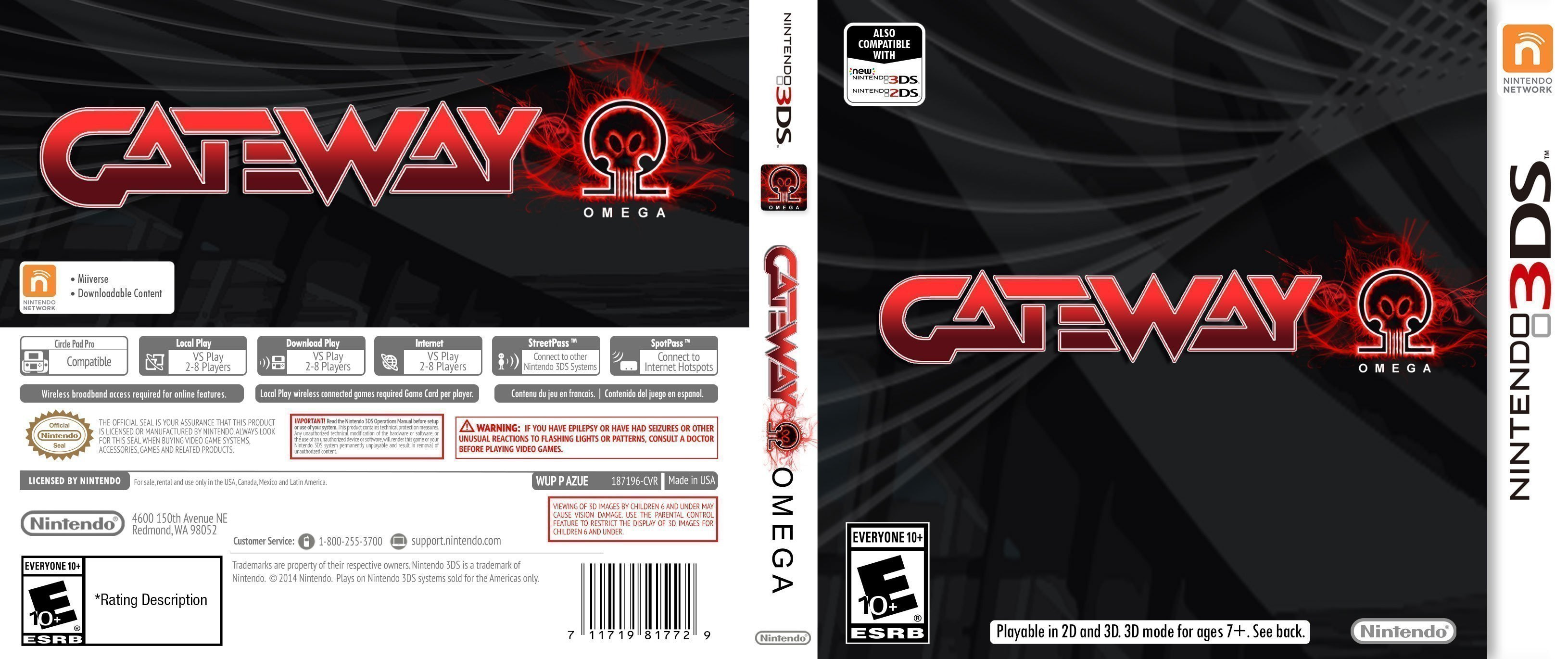 how to put games on gateway 3ds