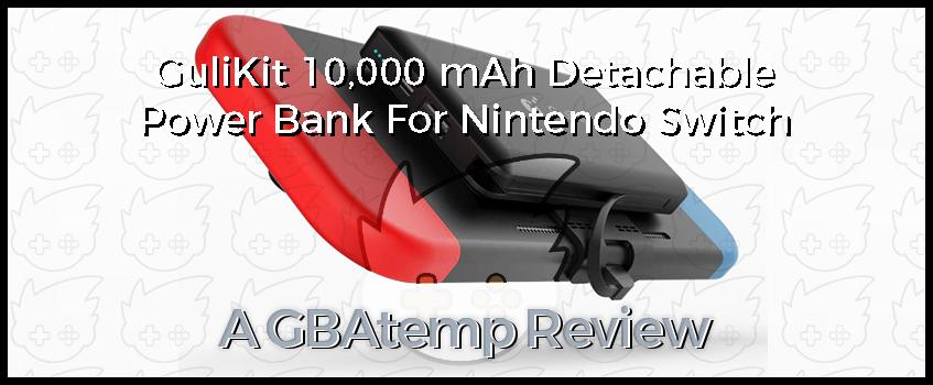 Gulikit 10,000 mAh Detachable Power Bank For Nintendo Switch