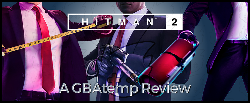 HITMAN 2 GBAtemp Review Banner.