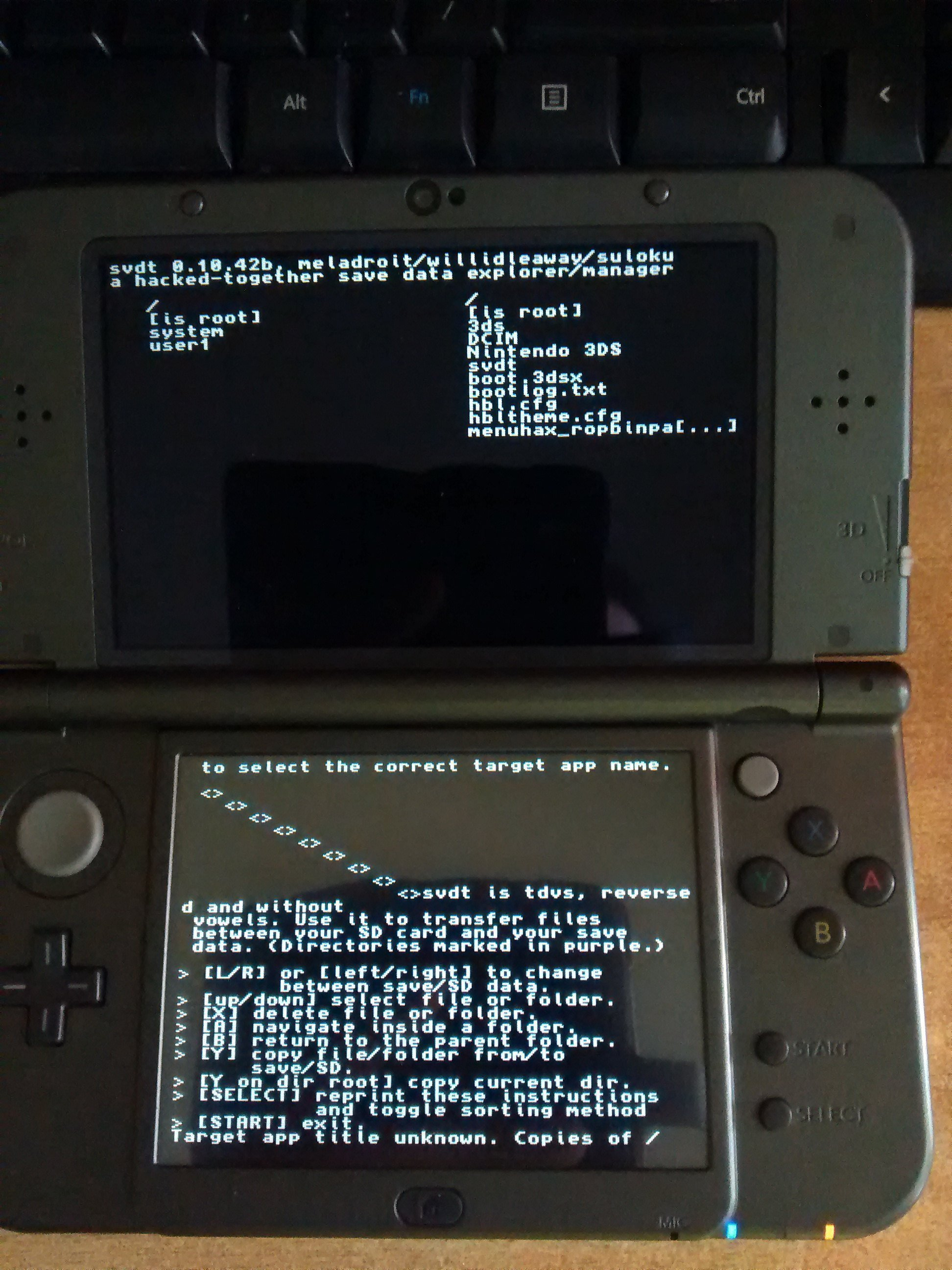 svdt 3ds