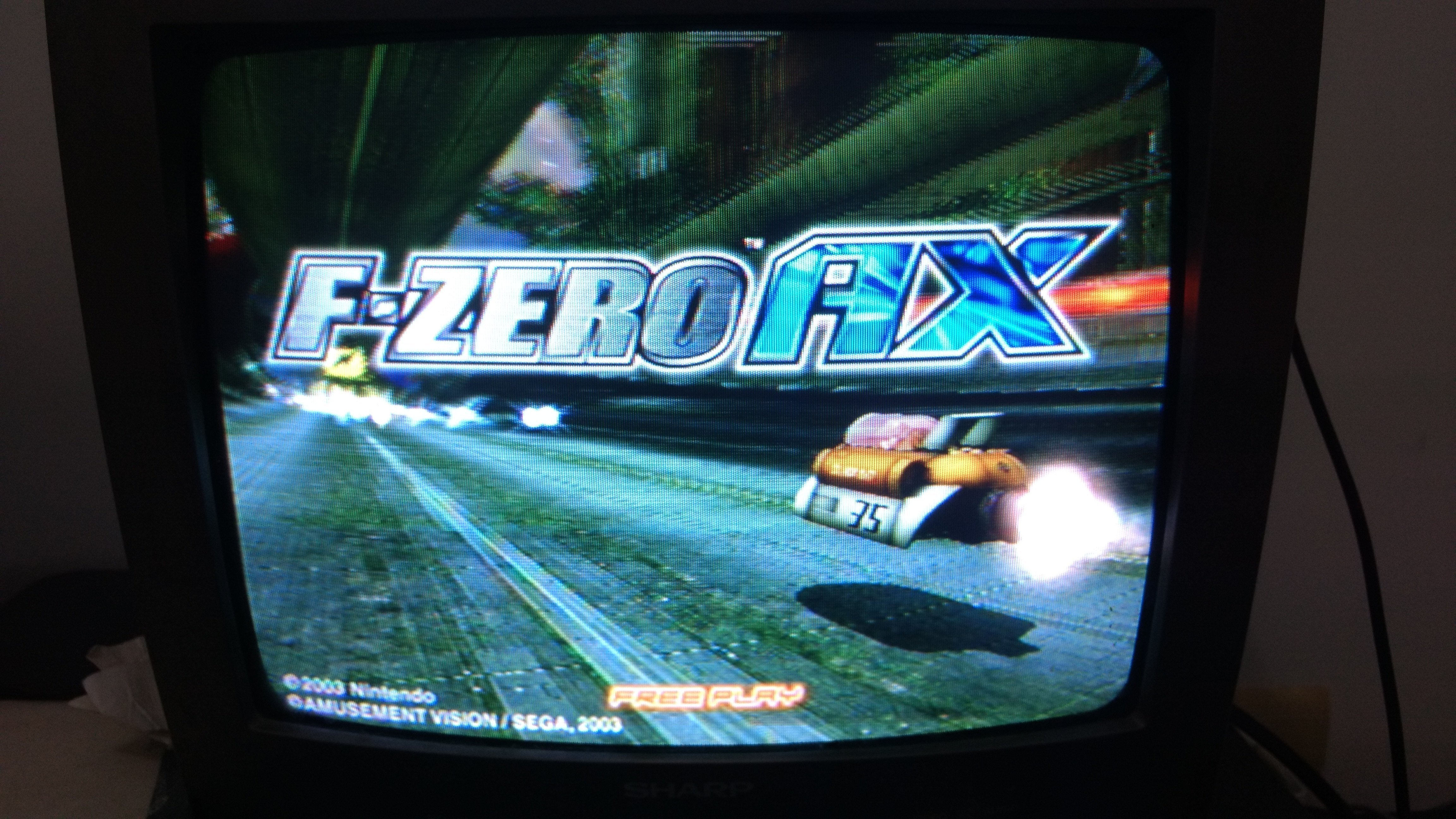 use physical gamecube memory card in f zero ax nintendont