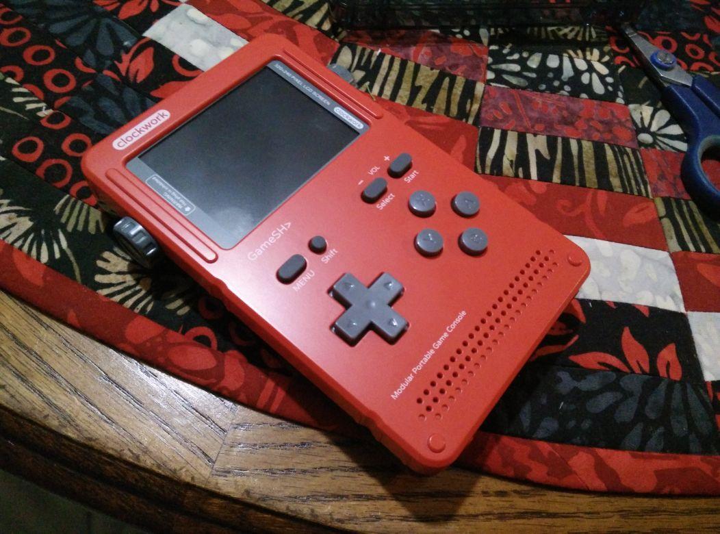 Review: clockwork GameShell (Hardware)   GBAtemp net - The