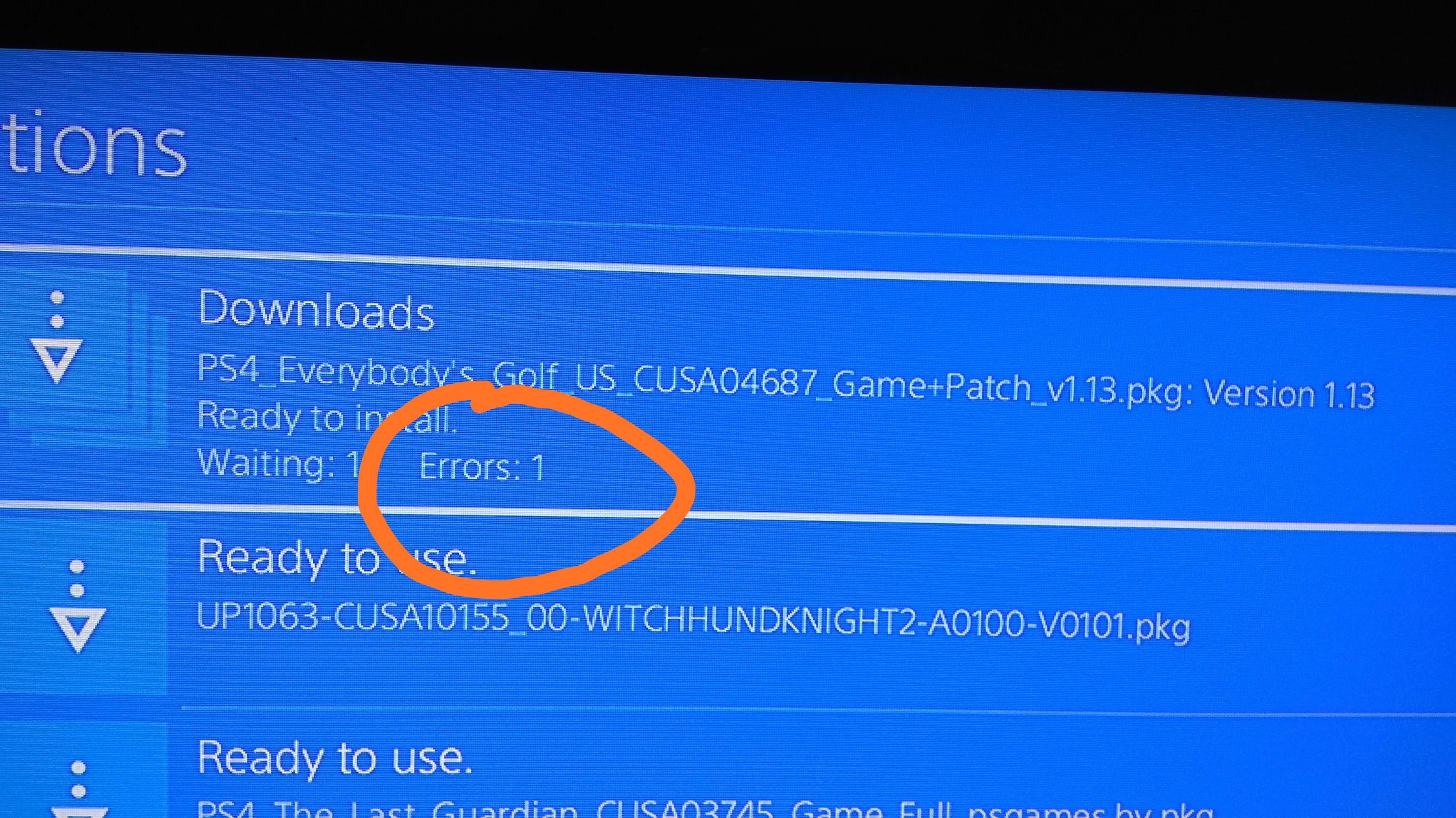 i installed bad fpkg on ps23 hen, shows as others application, how