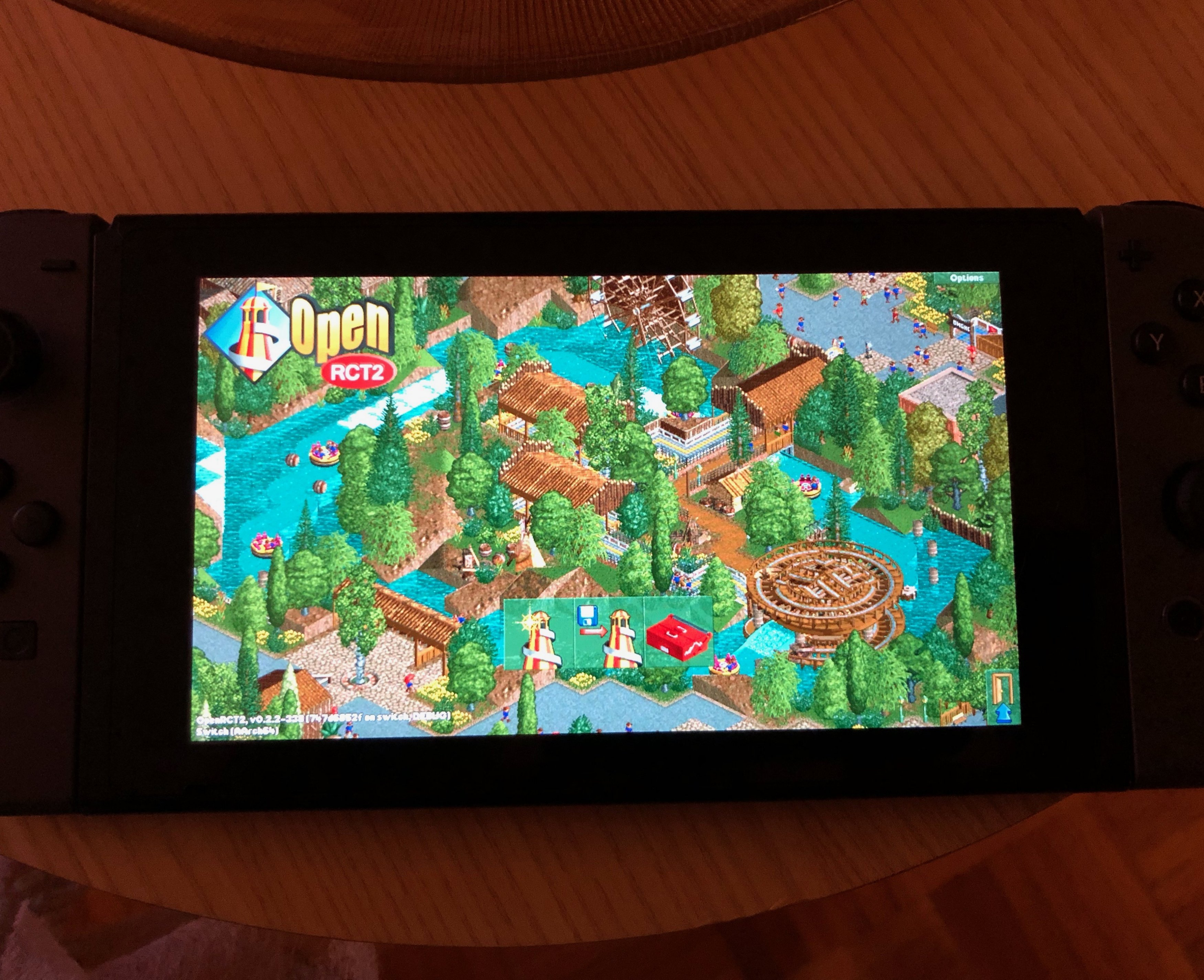 RELEASE - [Release] OpenRCT2 (RollerCoaster Tycoon 2) for Switch