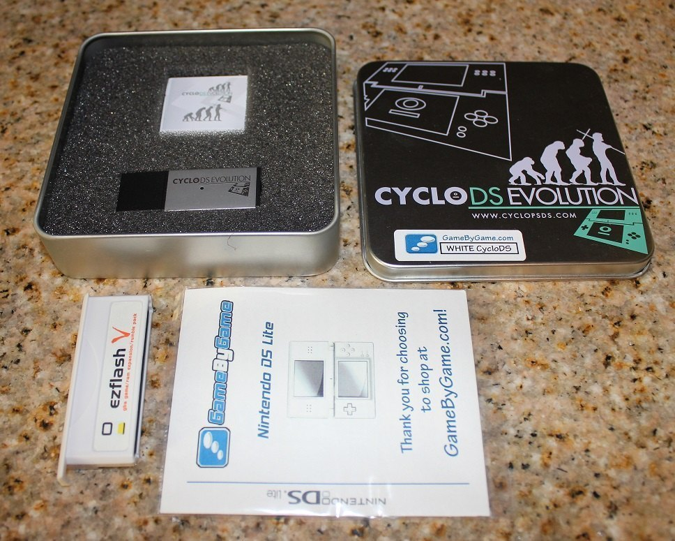 CycloDS Evolution & EZV 3 in 1 Flashcart where can I sell ...
