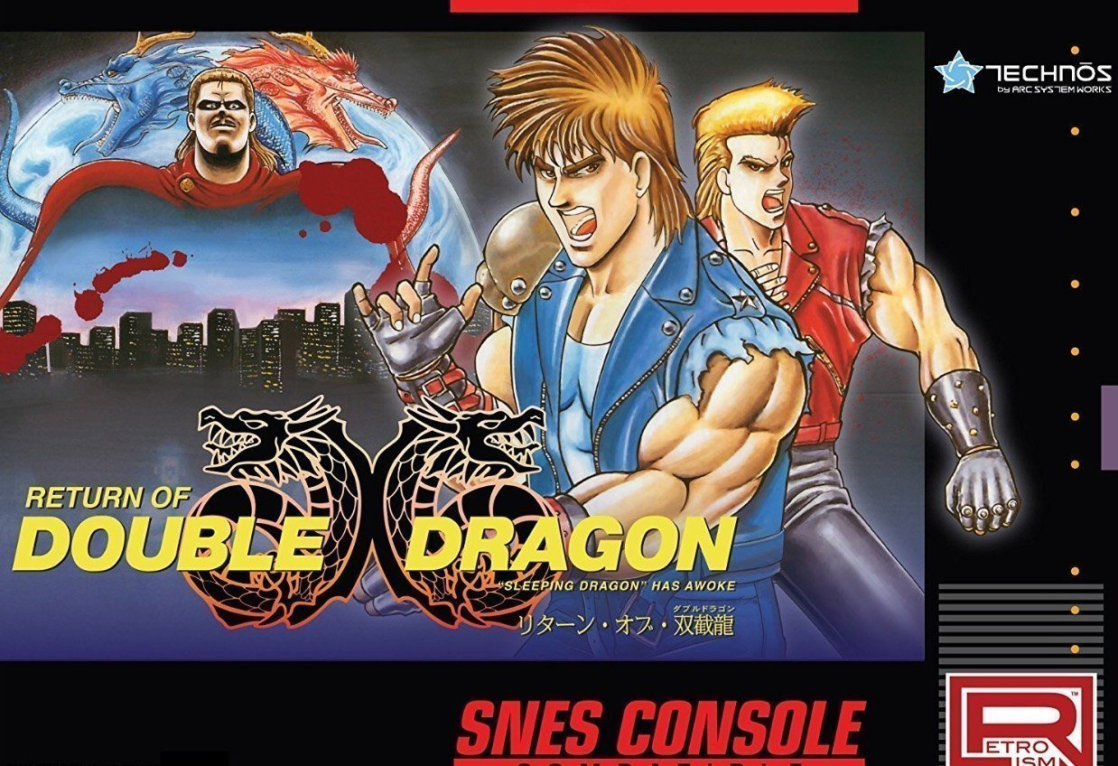 Super Nintendo Game Return Of Double Dragon To Release This July Gbatemp Net The Independent Video Game Community