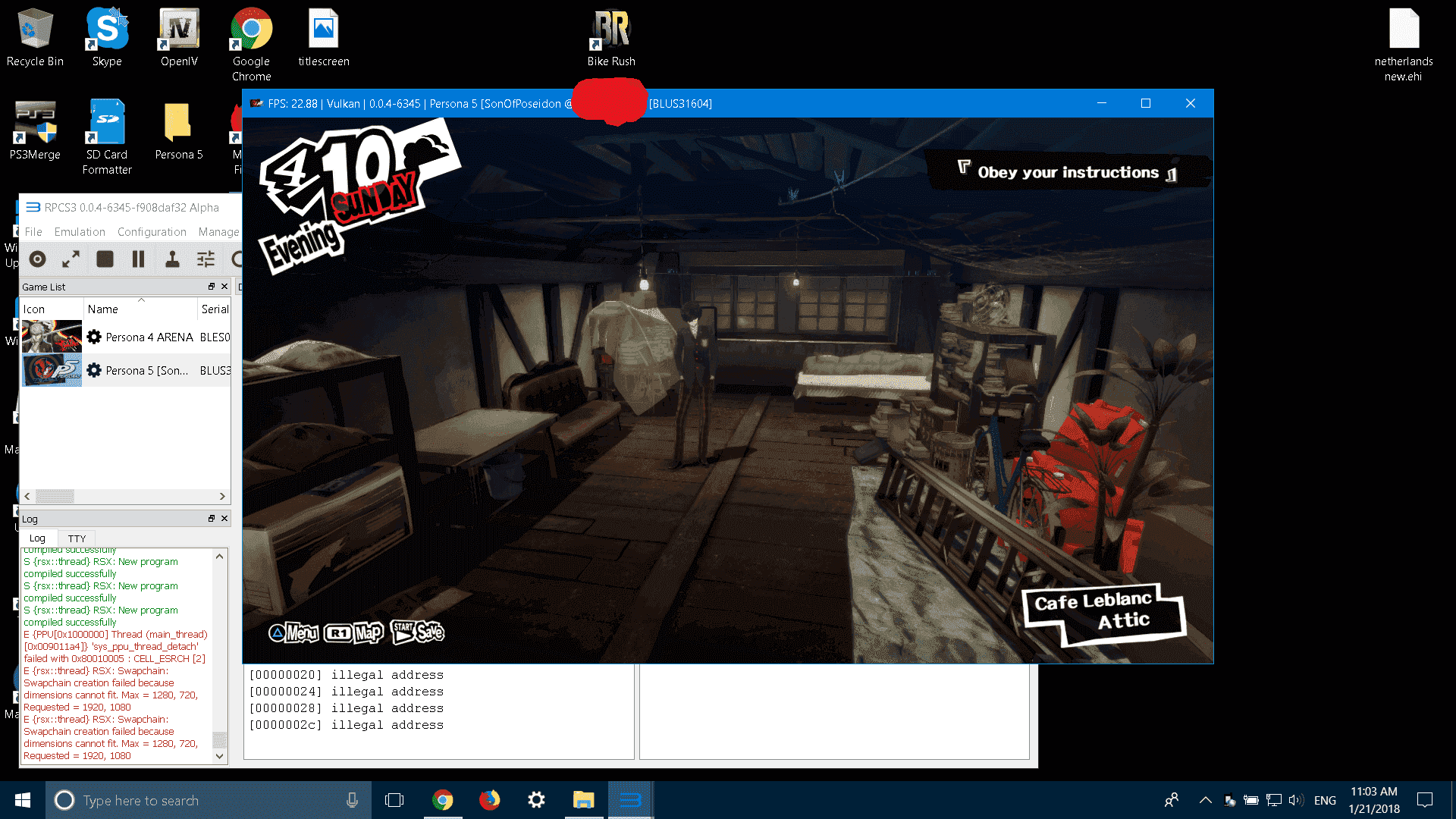 anyone can help me with RPCS3 please(persona 5) | GBAtemp net - The