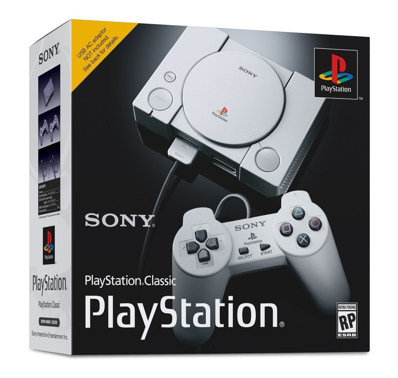 Sony Announces PlayStation Classic Featuring 20 Pre-Loaded Games