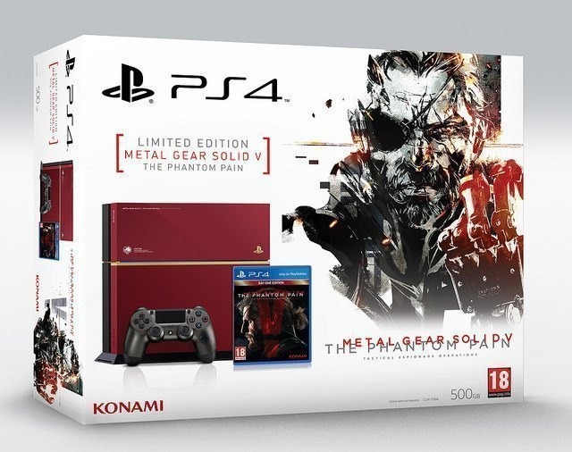 Special edition 'metal gear solid v' ps4 out in september tech.