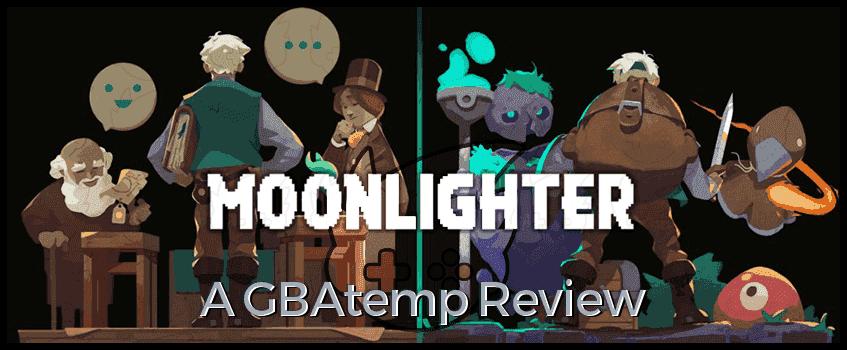 Moonlighter GBAtemp Review Banner.