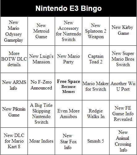 My Nintendo Switch E3 Bingo.png
