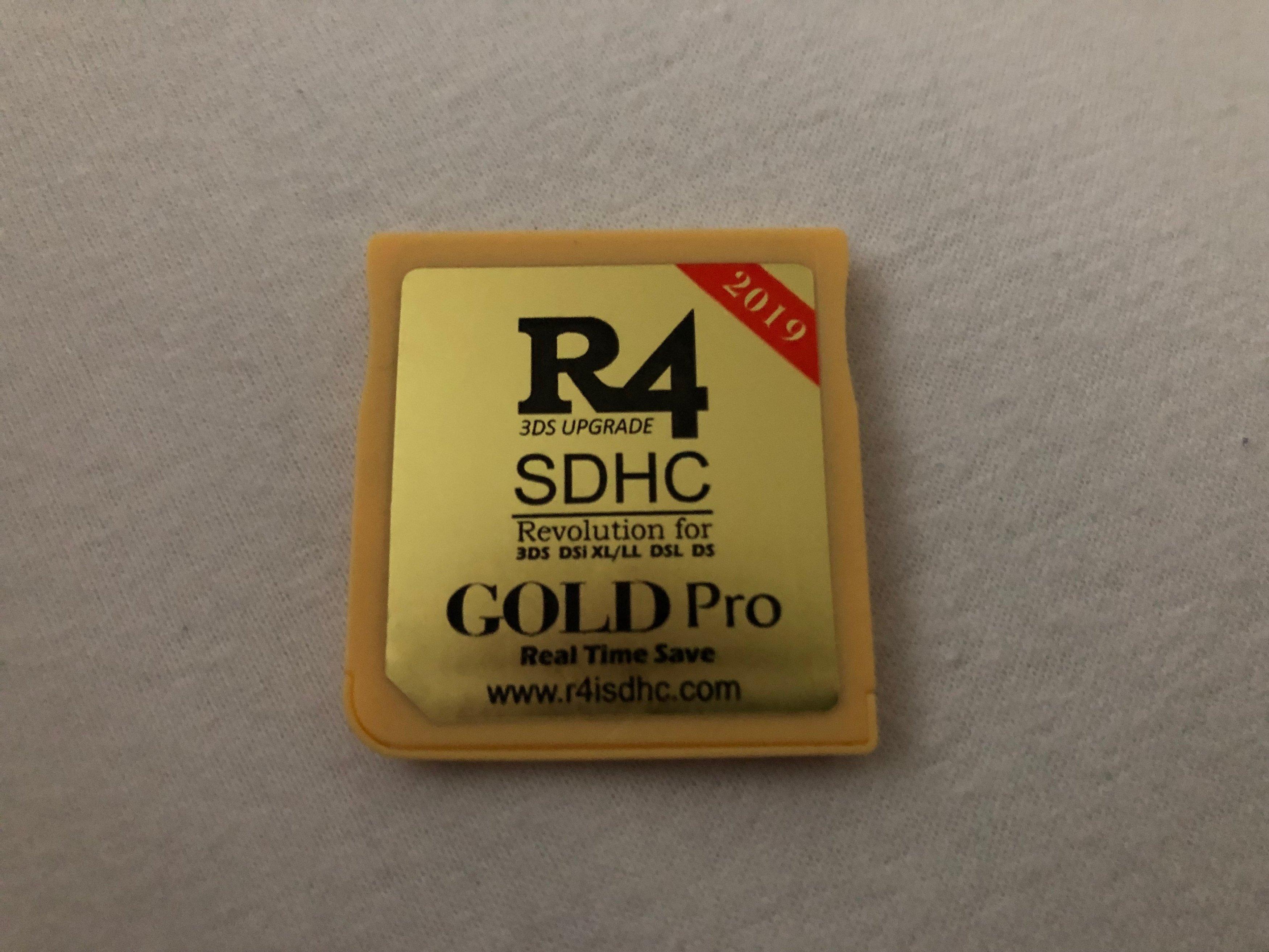 R4i Pro 2019 VS R4 (non-SDHC) - Very slow  Better Firmware