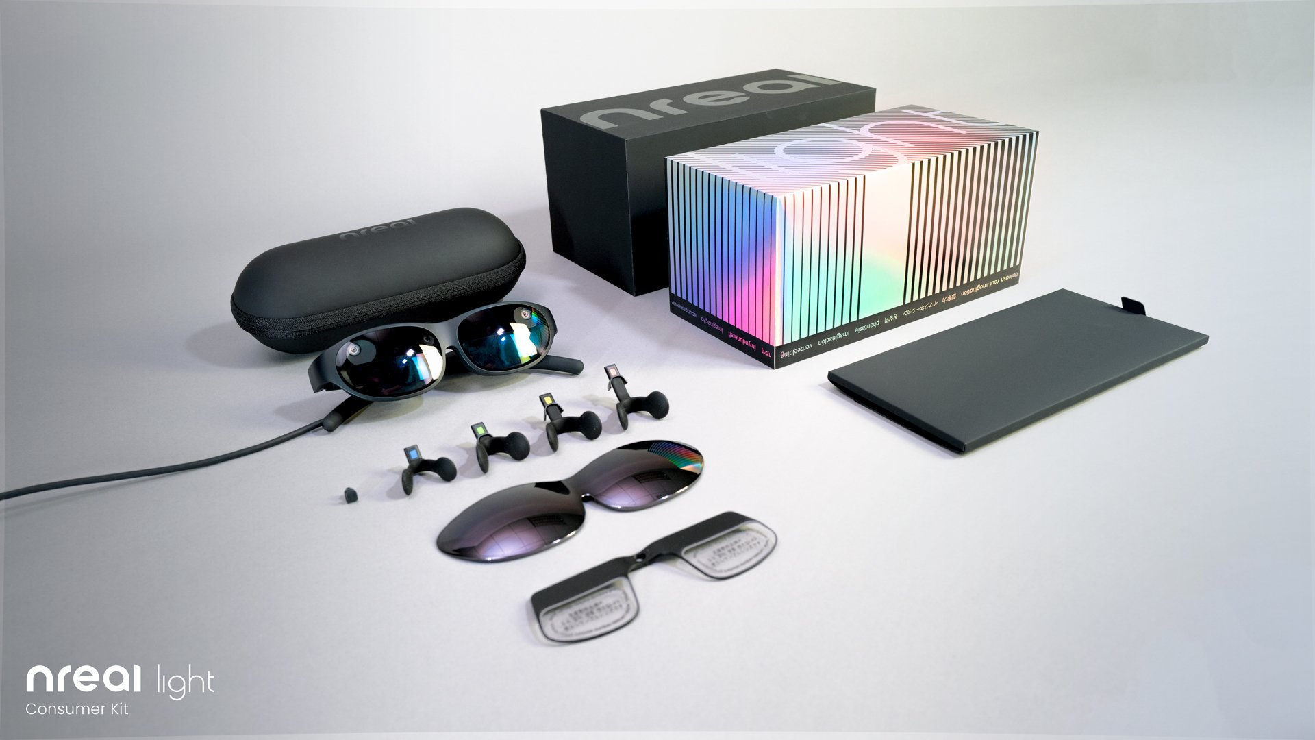 Nreal's increased fact glasses are actually delivering this month in Korea