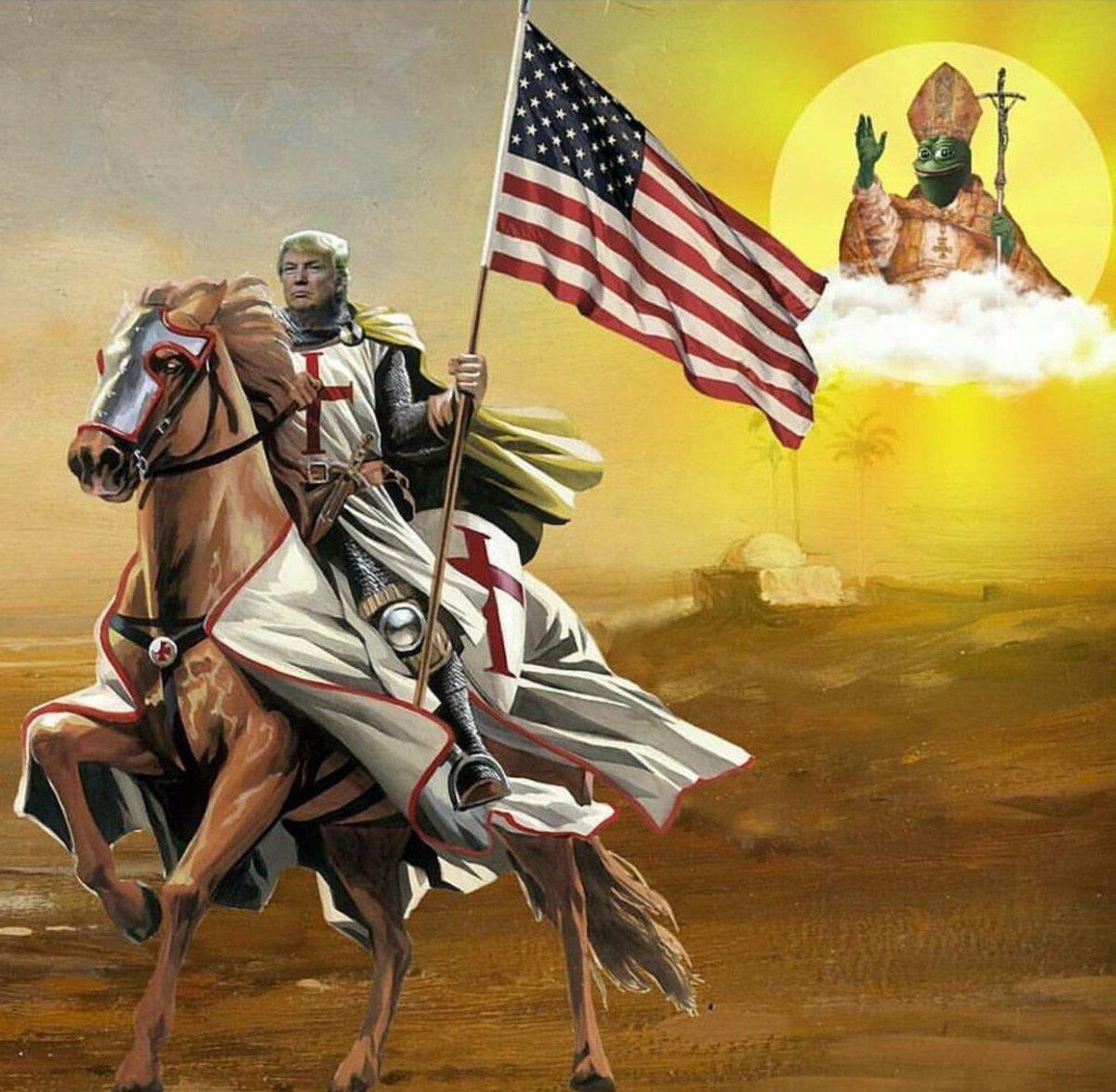 pope pepe and the donald knight.jpeg
