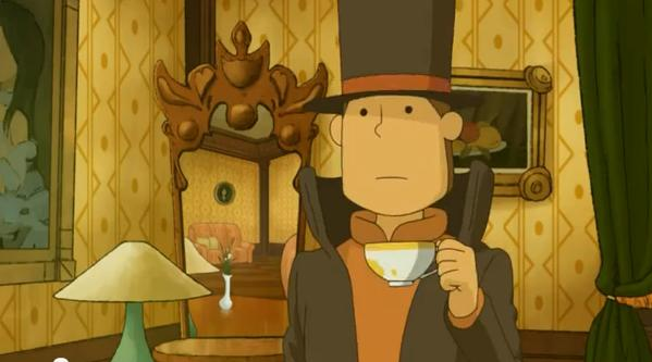 Professor Layton And The Mask of Miracle Professor Layton Miracle Mask