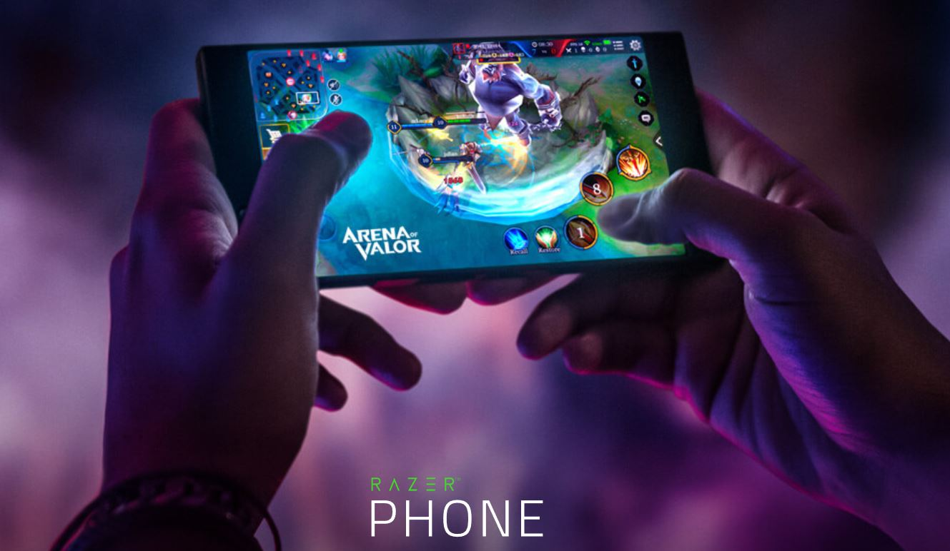Sequel to Razer's gaming phone in development