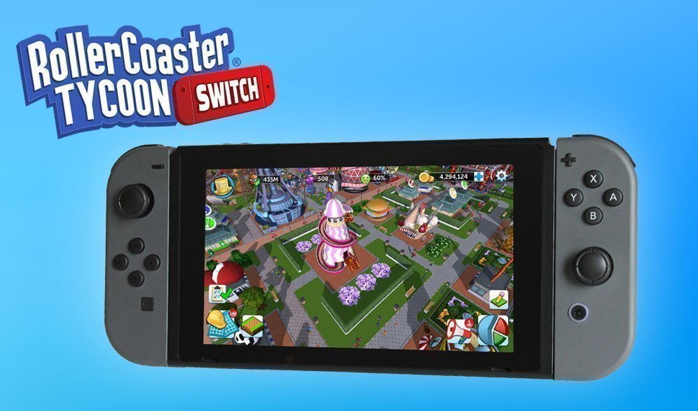 Atari would like you to fund Rollercoaster Tycoon on Switch