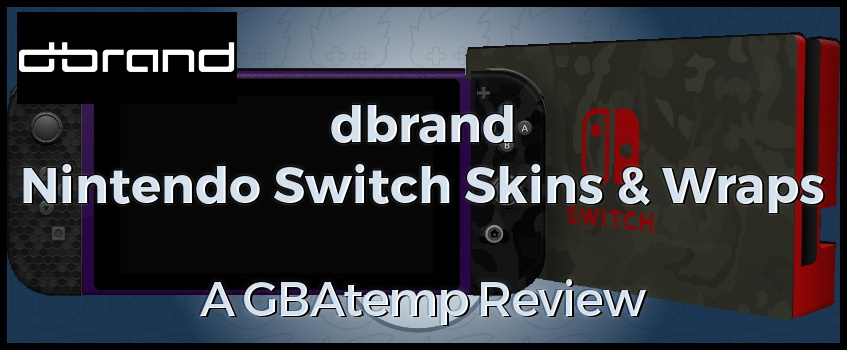 dbrand Nintendo Switch Skins - Official GBAtemp Review | GBAtemp net