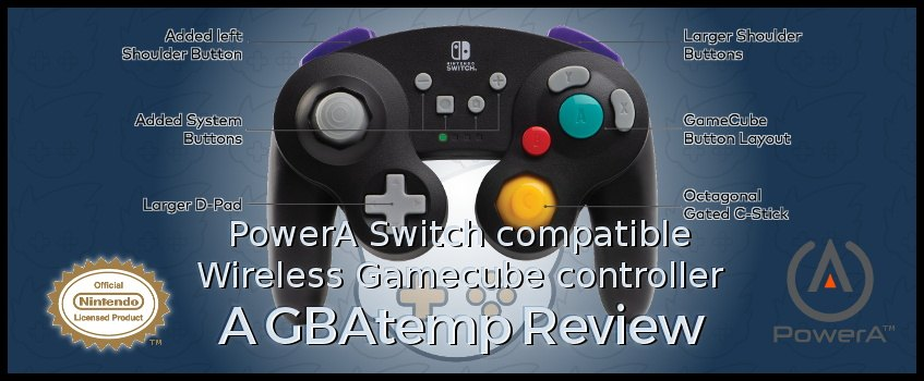 Official Gbatemp Review Powera Wireless Gamecube Style