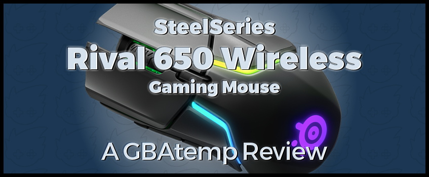 Official GBAtemp Review - SteelSeries Rival 650 Wireless