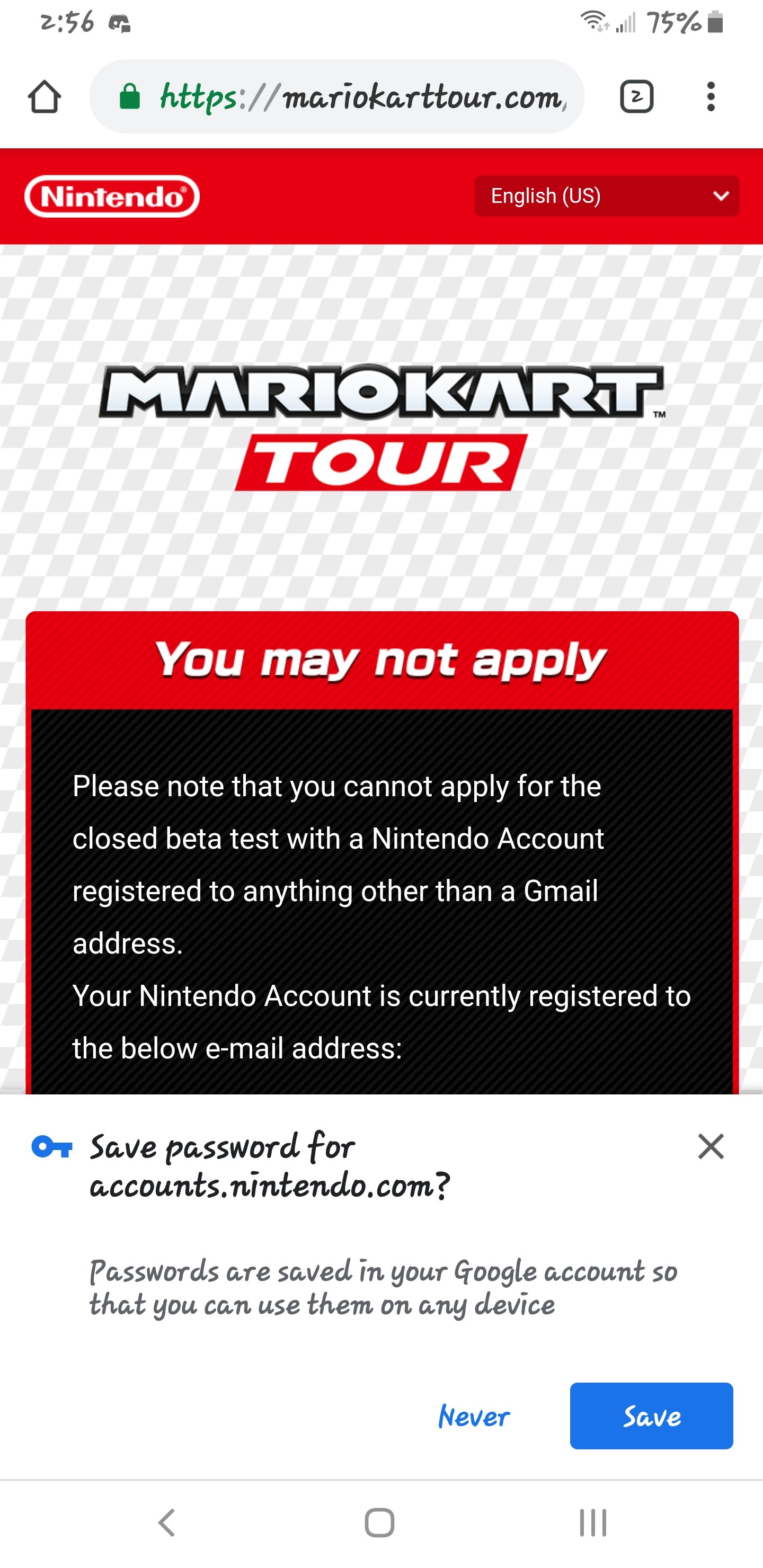 Mario Kart Tour will have a closed beta on Android devices