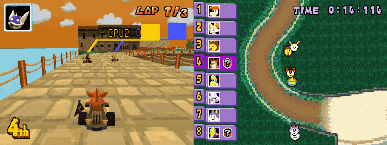 Revolution Kart Ds A Mario Kart Ds Rom Hack Gbatemp Net The