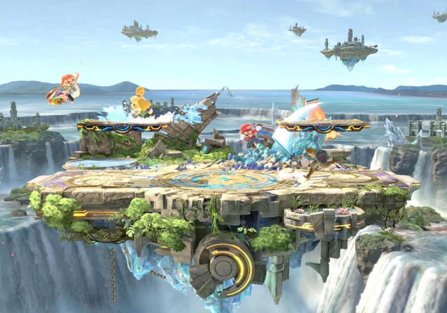 Super Smash Bros. Ultimate Version 8.1 adds Small Battlefield stage and more