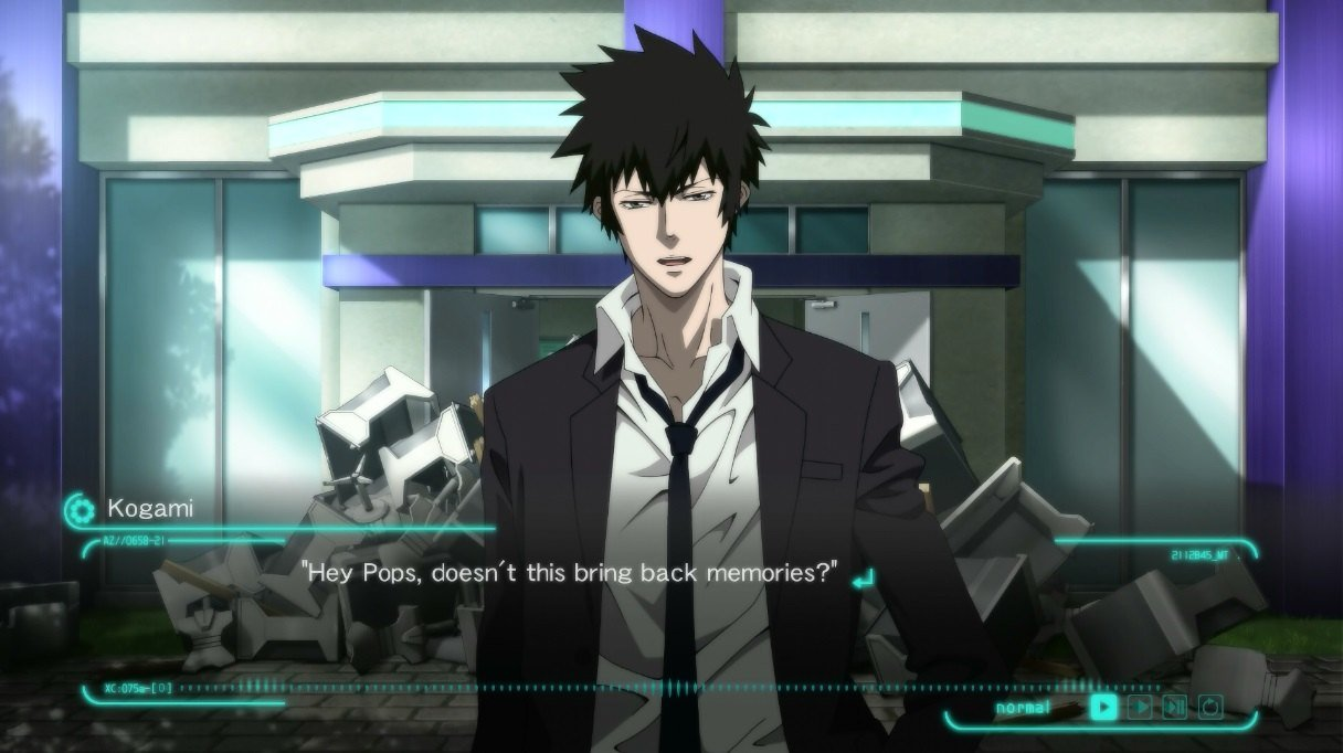 Psycho Pass Mandatory Happiness Takes Place Within The Same Universe Featuring Characters As In Animes First Season And It Also Introduces