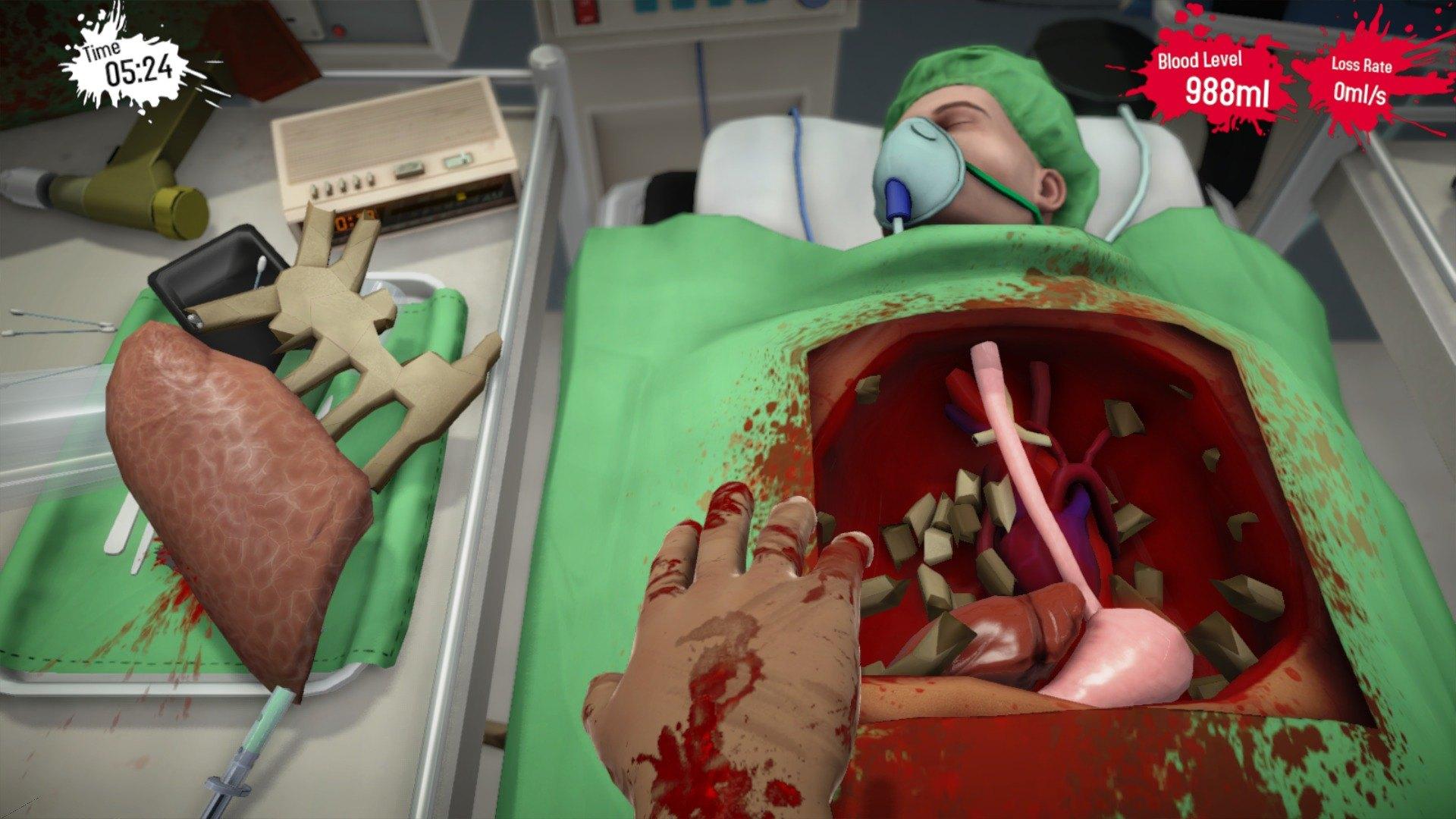 review surgeon simulator anniversary edition playstation 4